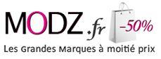 Logo Modz boutique en ligne de vêtements de marques et accessoires de mode pour hommes